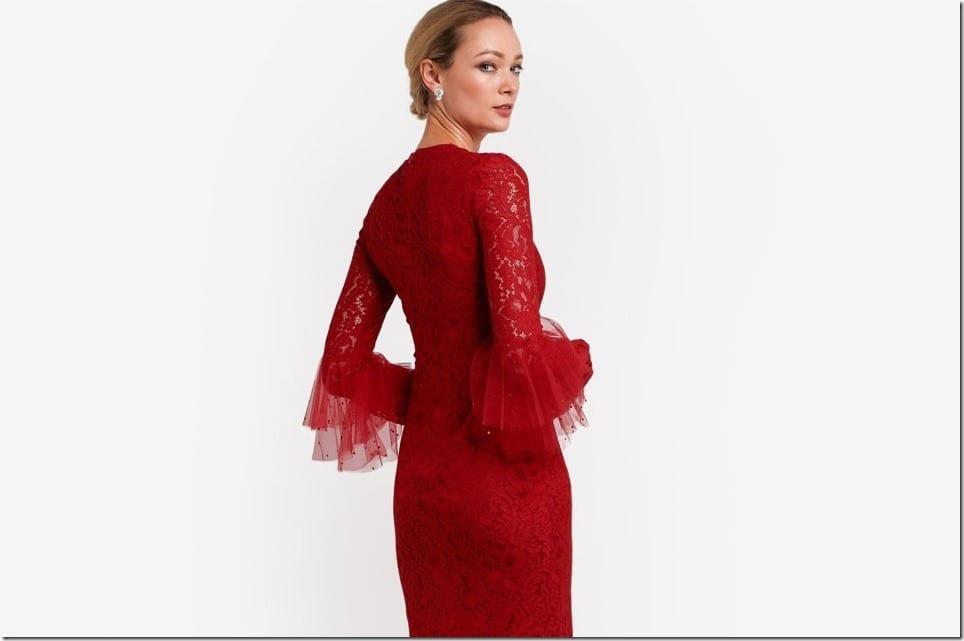 Dazzle in Rizalman's Glamorous RED This Raya 2017