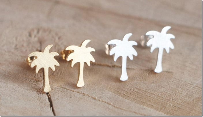 minimal-palm-tree-stud-earrings