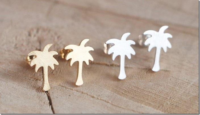 minimal-palm-tree-stud-earrings