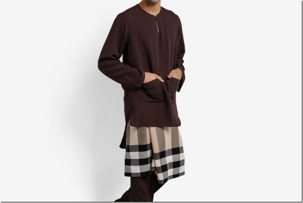Minimalist Mod Baju Melayu For Men's Raya 2017 Wardrobe