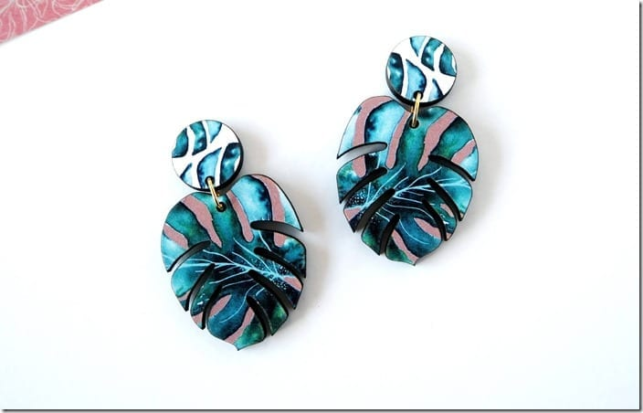 monstera-plant-tropical-earrings