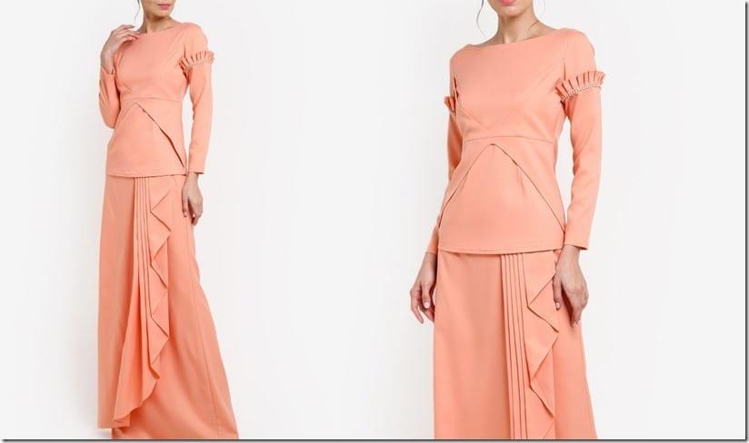 peach-ruffle-arm-mod-kurung