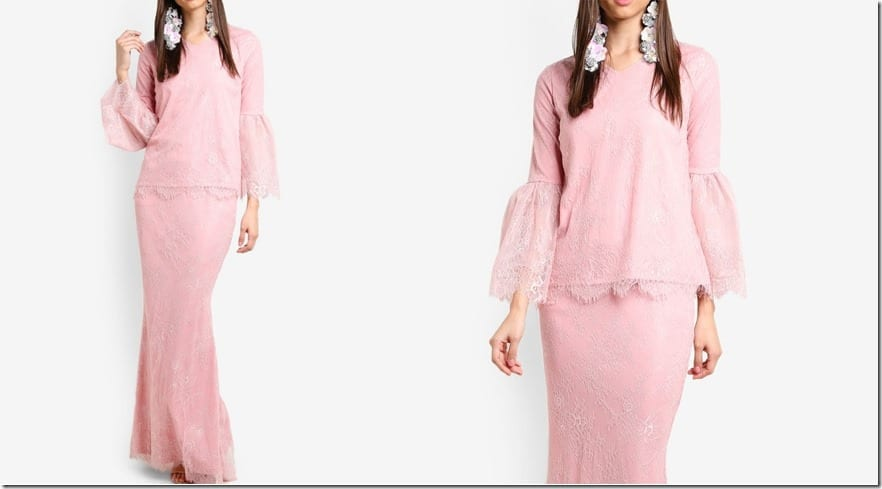 pink-french-lace-kurung