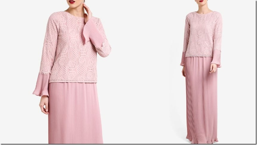 pink-lace-pleated-kurung-kedah