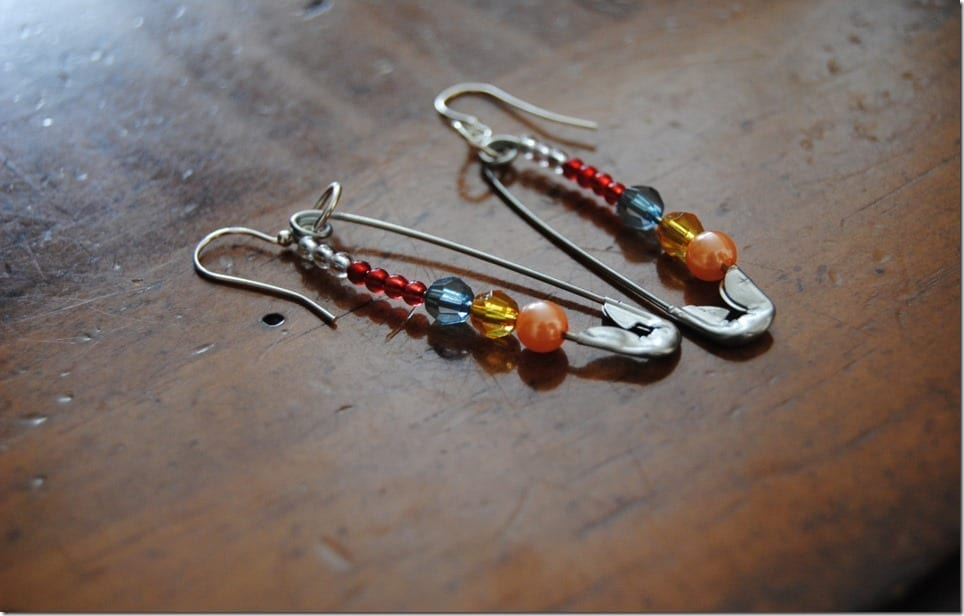 Wear These Safety Pin Earrings To Show You Are A Friend