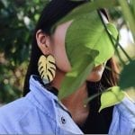 Fashionista NOW: Tropical Botanical Earrings To Give Your Ears Instant Summer Vibes