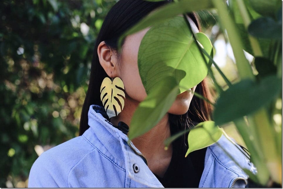 Tropical Botanical Earrings To Give Your Ears Instant Summer Vibes