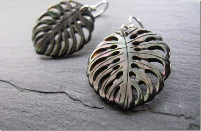 sterling-silver-carved-monstera-leaf-earrings