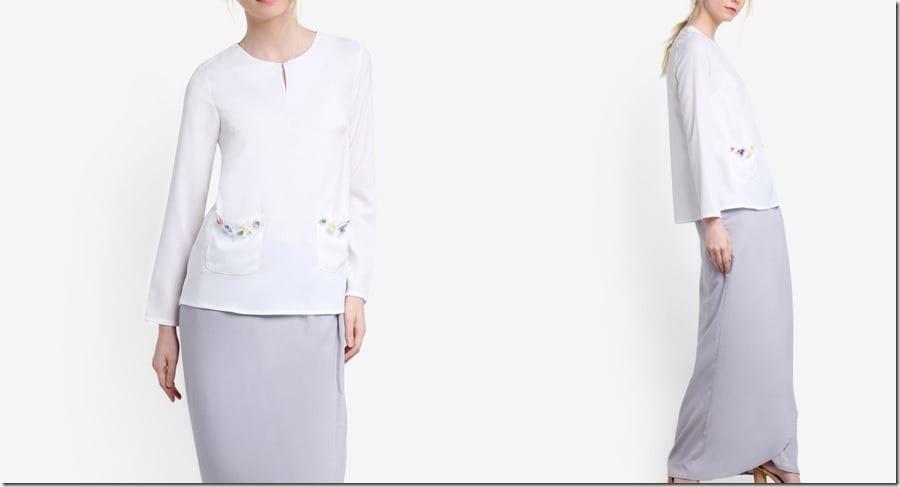 white-grey-beaded-pocket-kurung