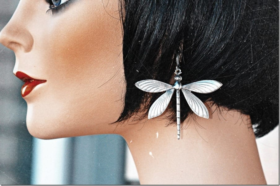 Wear Dragonflies On Your Ears ~ Nature Lover Jewelry Inspo