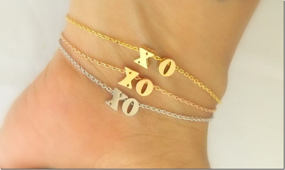 Send Your Hugs And Kisses Through The XO Jewelry Style
