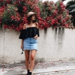 Fashionista NOW: 10 Ways To Sport The Mini Denim Skirt Trend This Summer