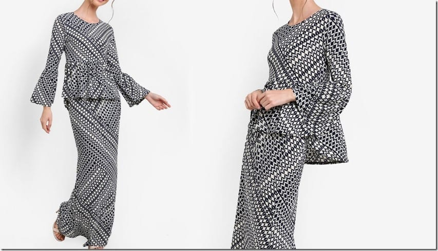 black-white-geometric-mod-kurung