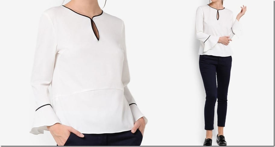 contrast-piping-white-blouse