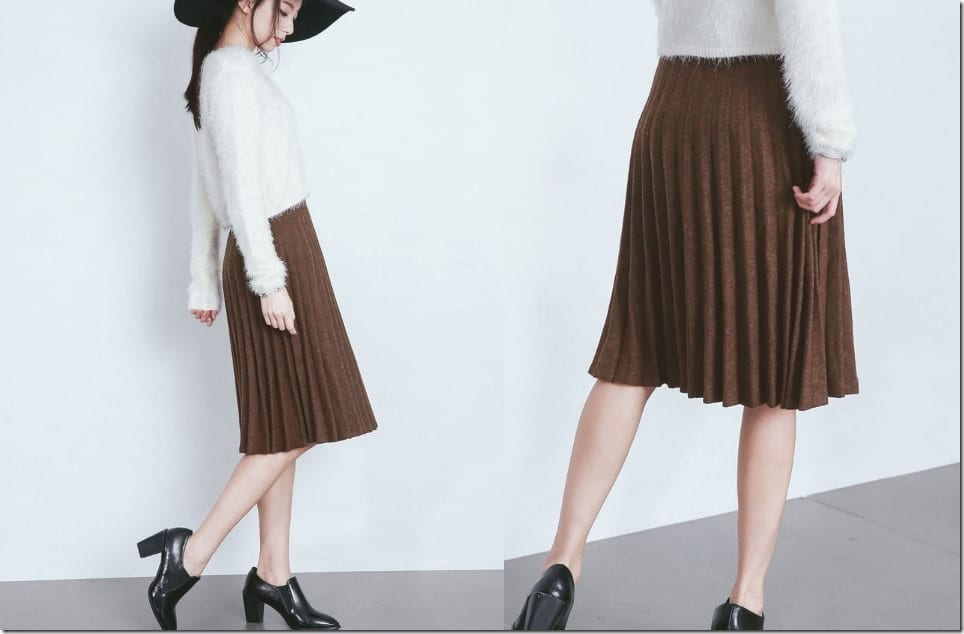 Midi Skirt Styles To Go With Just About Any Top In Your Closet