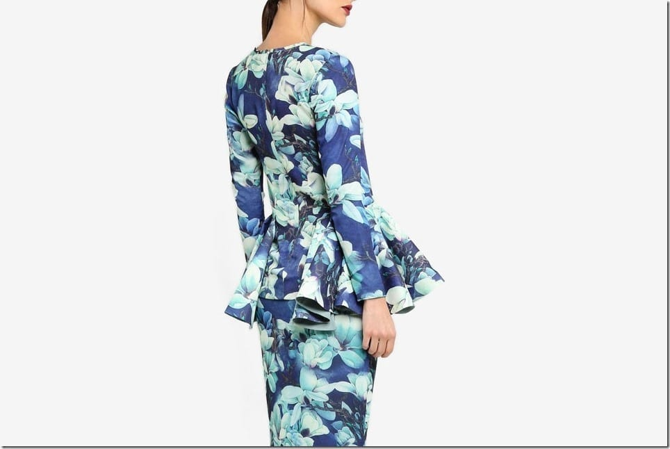 Patterned Mod Kurung Styles For Your Raya 2017 OOTD
