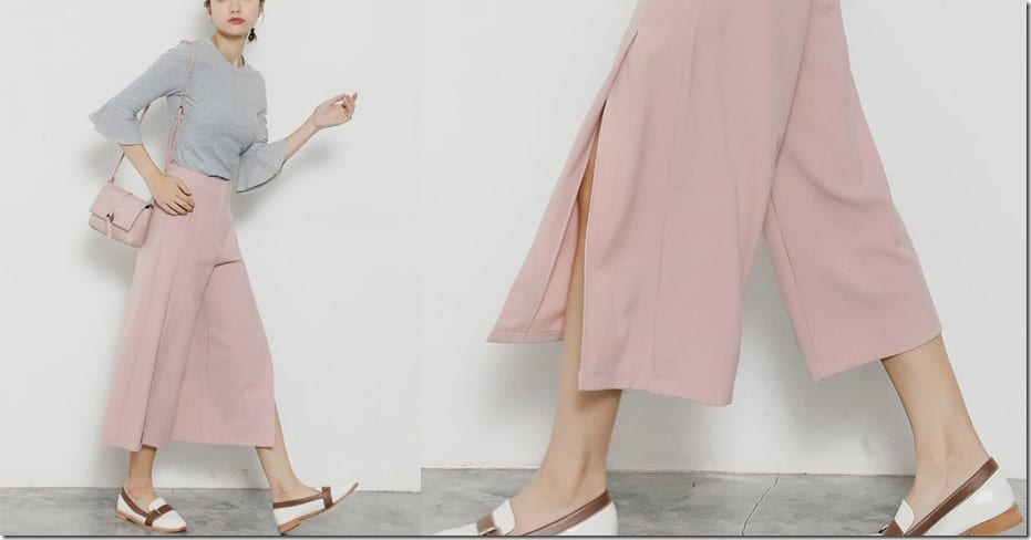 pink-high-waist-split-culottes