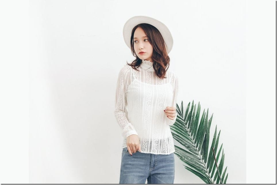 Pretty White Blouse Styles To Perfect Your Easy Chic Wardrobe