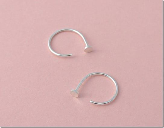 silver-nail-head-open-loop-earrings