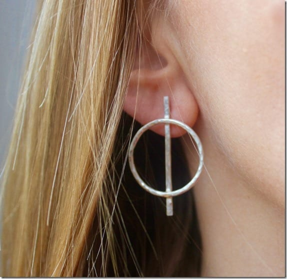 textured-bar-hoop-earrings