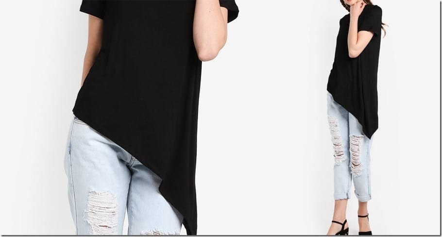 very-asymmetric-hem-black-tee