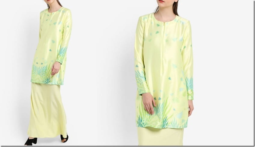 yellow-leaf-print-mod-kurung