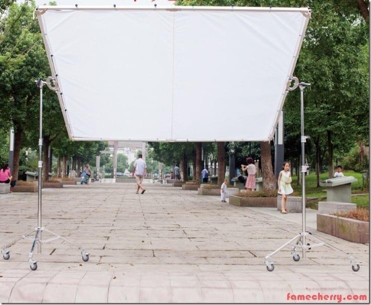 2.4m x 2.4m Large Screen Jim Malaysia
