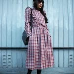 Fashionista NOW: A Plaid Midi Dress Style Inspiration