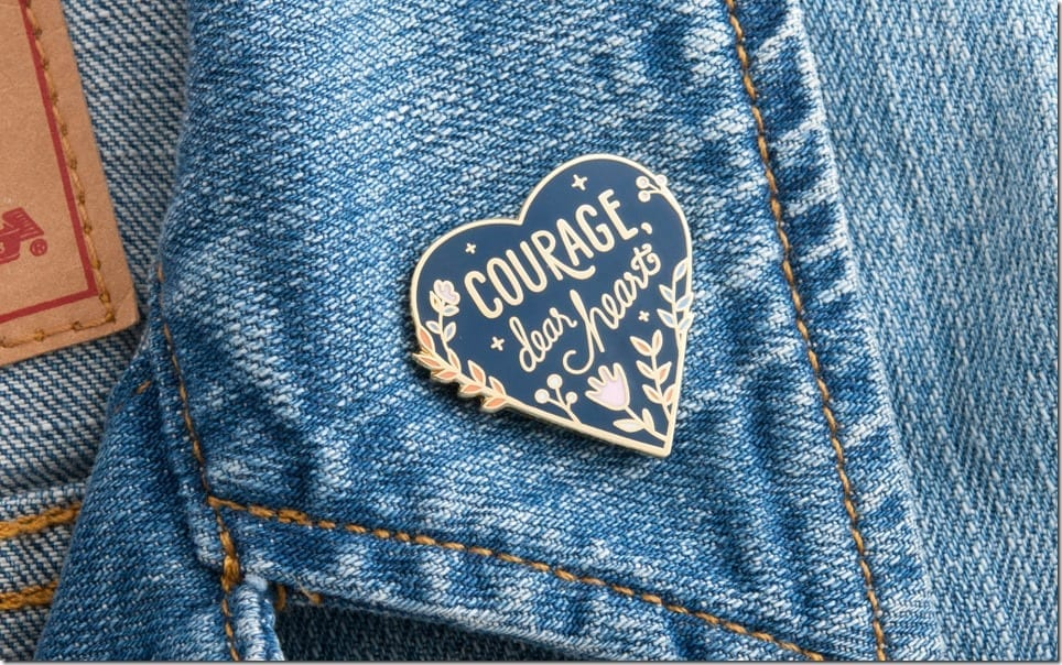 courage-enamel-pin