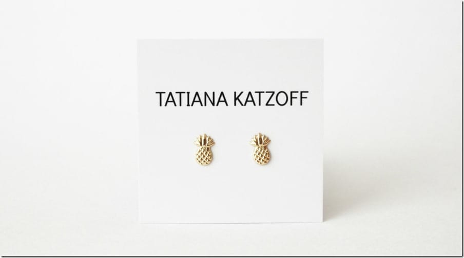 dainty-pineapple-stud-earrings