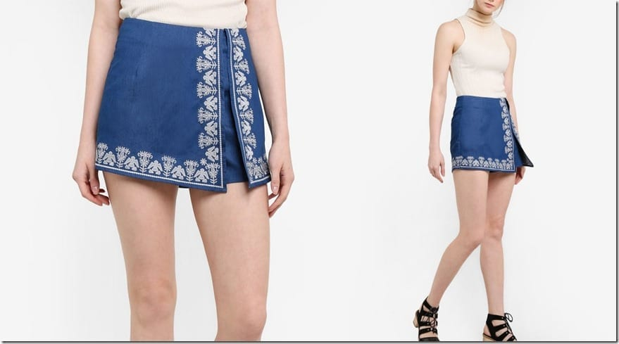 embroidered-split-skort