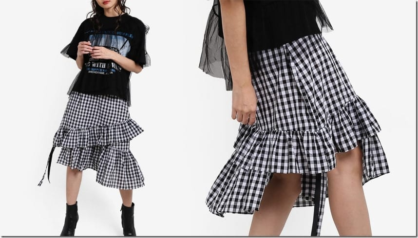 midi-ruffle-gingham-skirt