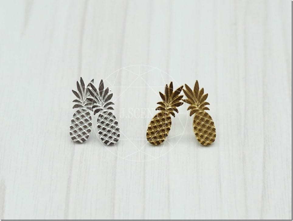 Give Your Lobes A Tropical Spin In Pineapple Earrings