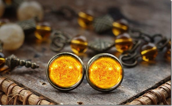 sun-stud-earrings