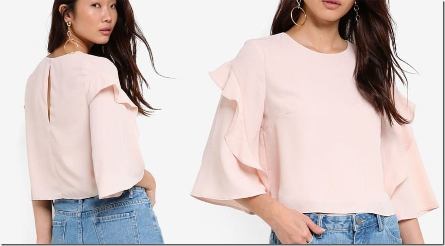 tiered-frill-sleeve-top