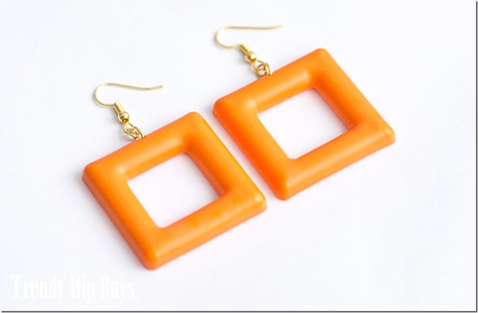 60s-style-orange-square-hoop-earrings