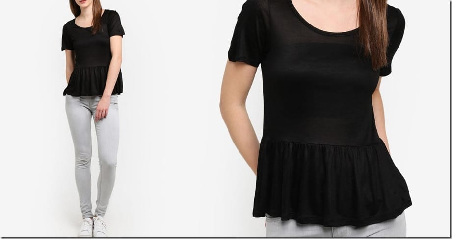 black-peplum-jersey-top