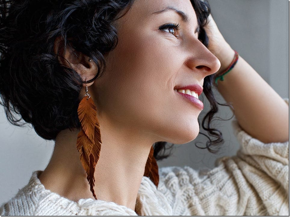 brown-leather-feather-earrings