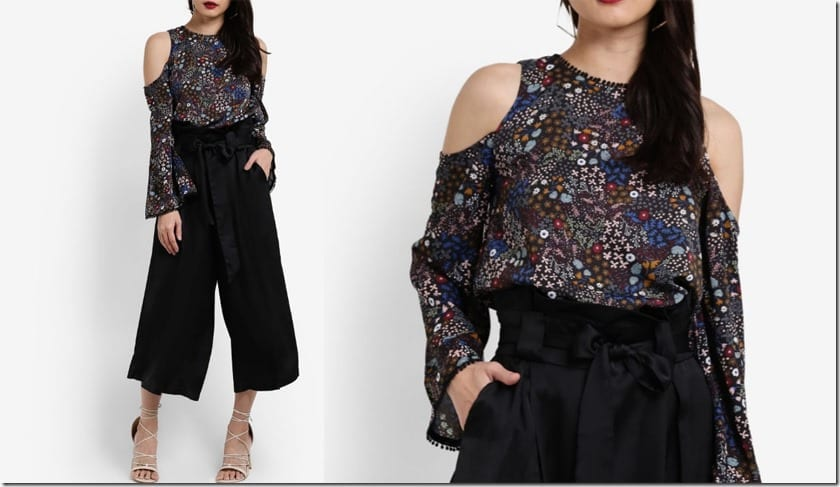 dark-floral-cold-shoulder-blouse