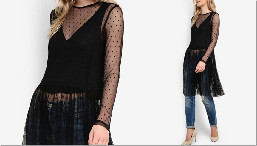 dotted-mesh-layered-top