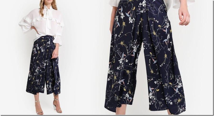 floral-front-pleat-culottes