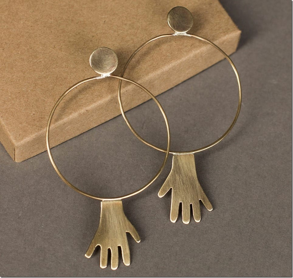 hand-hoop-earrings