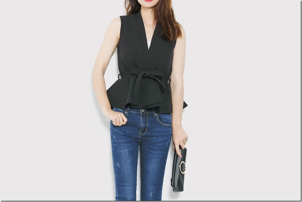 Summer Peplum Top Styles With Chic Casual Vibes