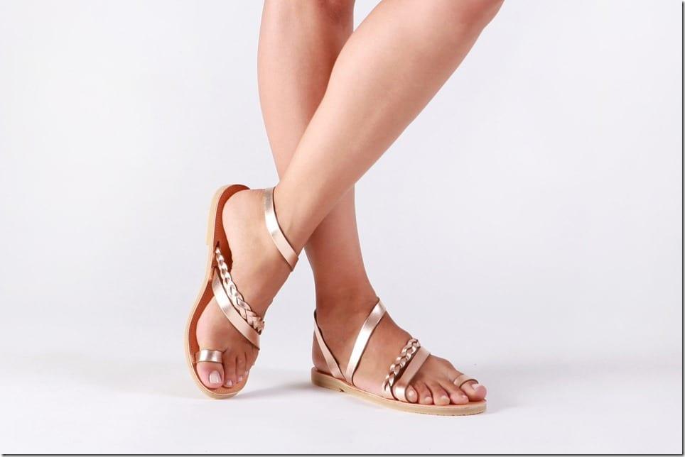 rose-gold-toe-ring-gladiator-sandals