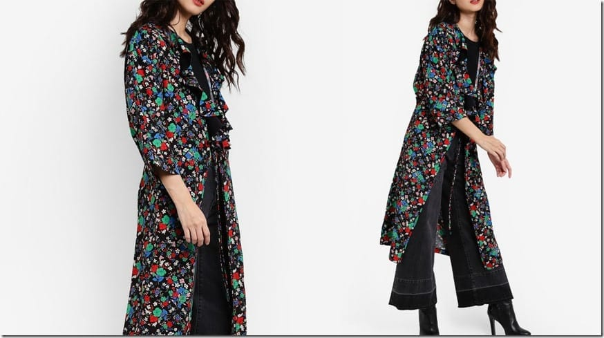 ruffle-floral-long-line-cardigan