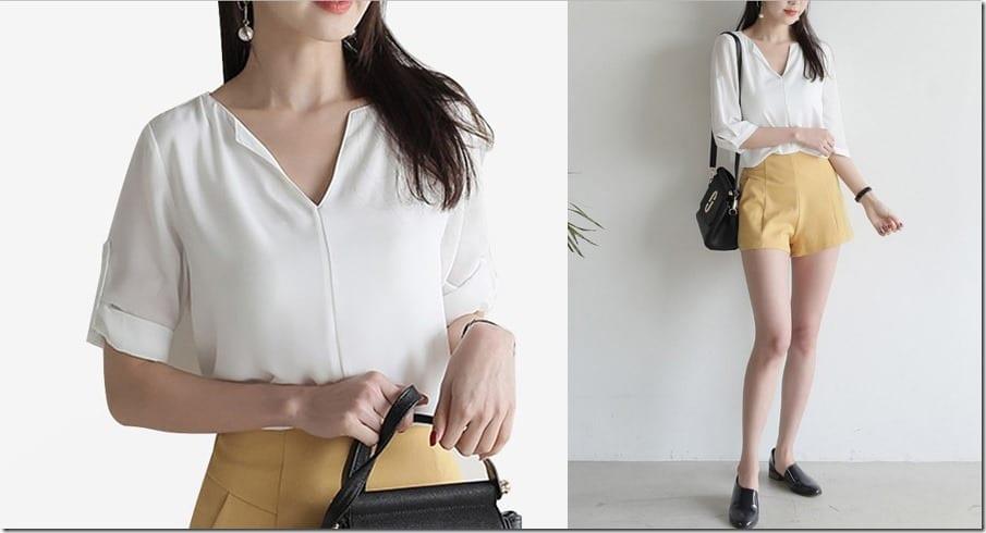 v-back-white-blouse