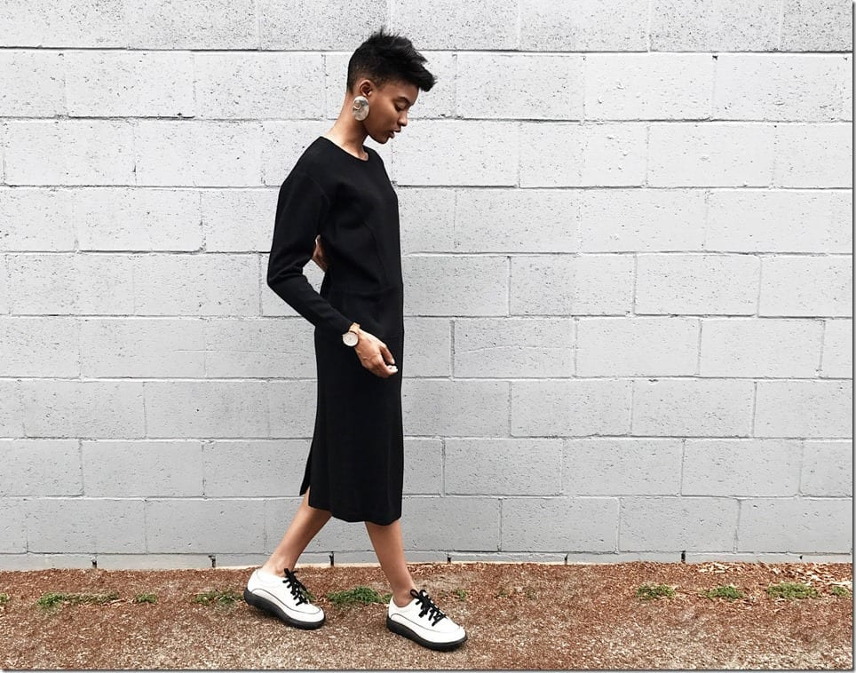 vintage-80s-black-minimalist-midi-dress