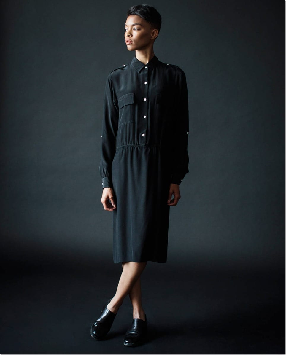 vintage-80s-black-silk-midi-dress