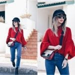 Fashionista NOW: How To Style A Striking RED Sweater?