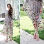 Fashionista NOW: How To Wear Sheer Embroidered Floral Dresses?